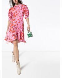 Peter Pilotto Minikleid mit Print - Pink