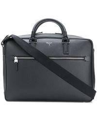 Serapian Large Laptop Bag - Black