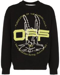 Off-White c/o Virgil Abloh - Harry The Bunny セーター - Lyst