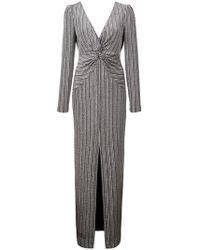Rachel Zoe - Nava Metallic Stretch Gown - Lyst