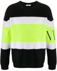 Valentino - Vltn インターシャセーター - Lyst