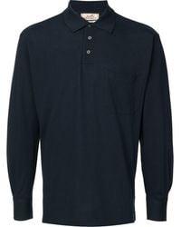 Hermès Polo à manches longues pre-owned - Bleu