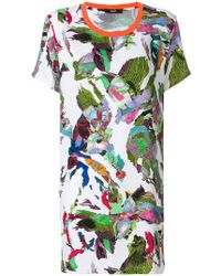 Versus - Abstract Print T-shirt - Lyst