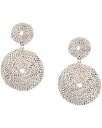 Gas Bijoux Onde Lucky Earrings - Metallic
