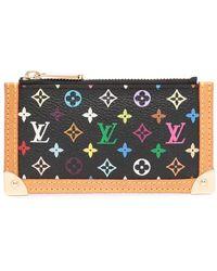 Louis Vuitton Кошелек Для Монет Pochette Cles 2004-го Года - Черный