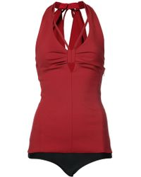 Rosie Assoulin - Tie Back Top - Lyst