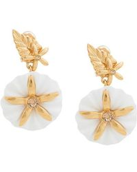 Oscar de la Renta - Morning Glory Earrings - Lyst