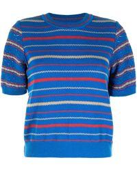 Coohem Retro Wave Sweater - Blue