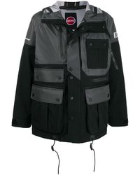 White Mountaineering カーゴジャケット - ブラック