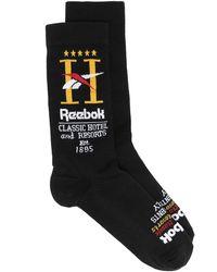 Reebok Hotel ロゴ 靴下 - ブラック