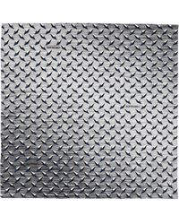 Supreme Diamond Plate Bandana - Gray