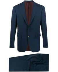Canali テーラードスーツ - ブルー