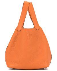 Hermès ピコタン ロック Pm ハンドバッグ - オレンジ