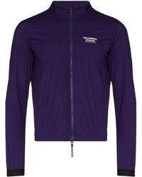 Pas Normal Studios Stow Away Zipped Jacket - Purple