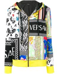 Versace Худи С Контрастным Принтом - Многоцветный
