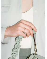 Dana Rebecca Кольцо Sadie Pearl Из Желтого Золота С Бриллиантами - Многоцветный