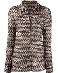 Missoni Рубашка С Принтом - Многоцветный