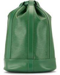 Louis Vuitton 1995 Pre-owned Randonnee Pm Shoulder Bag - Green