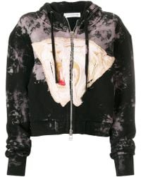 Faith Connexion - Zipped Embroidered Hoodie - Lyst