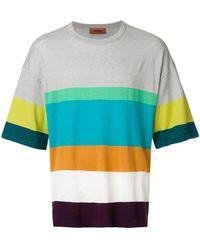 Missoni - ボーダー Tシャツ - Lyst