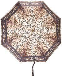Moschino Зонт С Леопардовым Принтом - Многоцветный