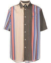 Vivienne Westwood Camisa Crazy Stripes Taras - Multicolor