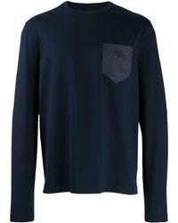 Prada - パッチポケット Tシャツ - Lyst