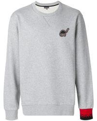 Lanvin - Dino Patch Sweatshirt - Lyst