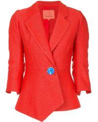 Manning Cartell Contrast button blazer - Rouge