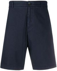 Department 5 Twill Shorts - Blue