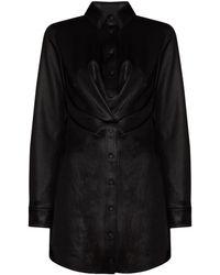 RTA Vivienne シャツドレス - ブラック