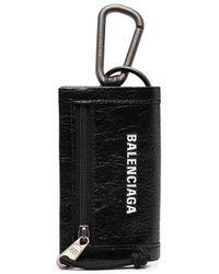 Balenciaga Мини-кошелек Explorer - Черный