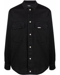 Represent ボタン シャツ - ブラック