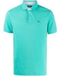 Hackett ロゴ ポロシャツ - グリーン