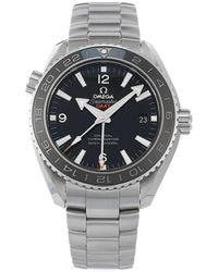 Omega - Наручные Часы Seamaster Planet Ocean Co-axial Gmt Pre-owned 43.5 Мм - Lyst