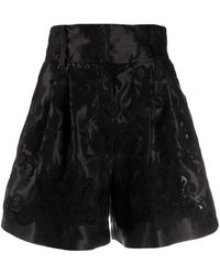 Dolce & Gabbana ジャカード ショートパンツ - ブラック