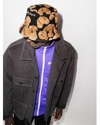 Palm Angels - X Browns 50 モノグラム バケットハット - Lyst