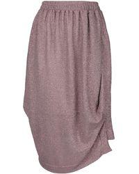 Vivienne Westwood Anglomania Box Skirt - Purple