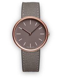 Uniform Wares 'M35' Armbanduhr - Grau
