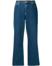 A.P.C. Flared Jeans - Blue