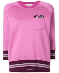 Anya Hindmarch - Eyes Patch Pocket Sweatshirt - Lyst