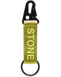 Stone Island Брелок С Логотипом - Зеленый