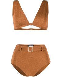 Moeva Bikini à paillettes - Orange