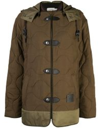 COACH - Quilted Military Coat - Lyst