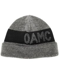 OAMC - Logo Beanie - Lyst
