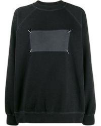 Maison Margiela 'memory Of' Logo Jumper - Black
