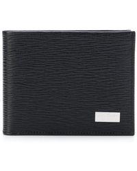 Ferragamo - Logo Plaque Bi-fold Wallet - Lyst