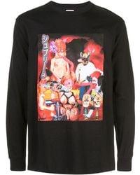 Supreme T-shirt Met Grafische Print - Zwart
