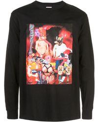 Supreme T-shirt con stampa - Nero