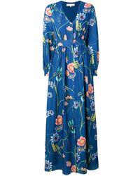 Bleu À Robe À Fleurs Chemise Fleurs À Robe Chemise Bleu Robe Chemise rdWQoCxBe